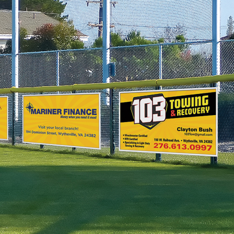 Advertising / Fundraiser Banners