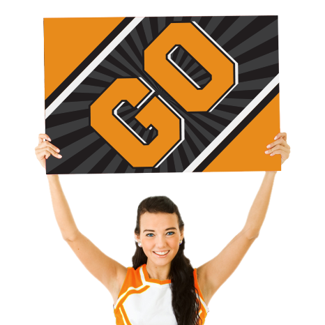 Custom Cheerleading Signs
