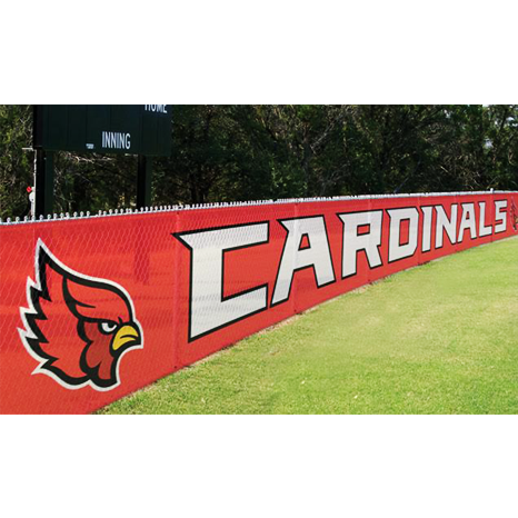 Large Mesh Outdoor Banners for Sports Fields